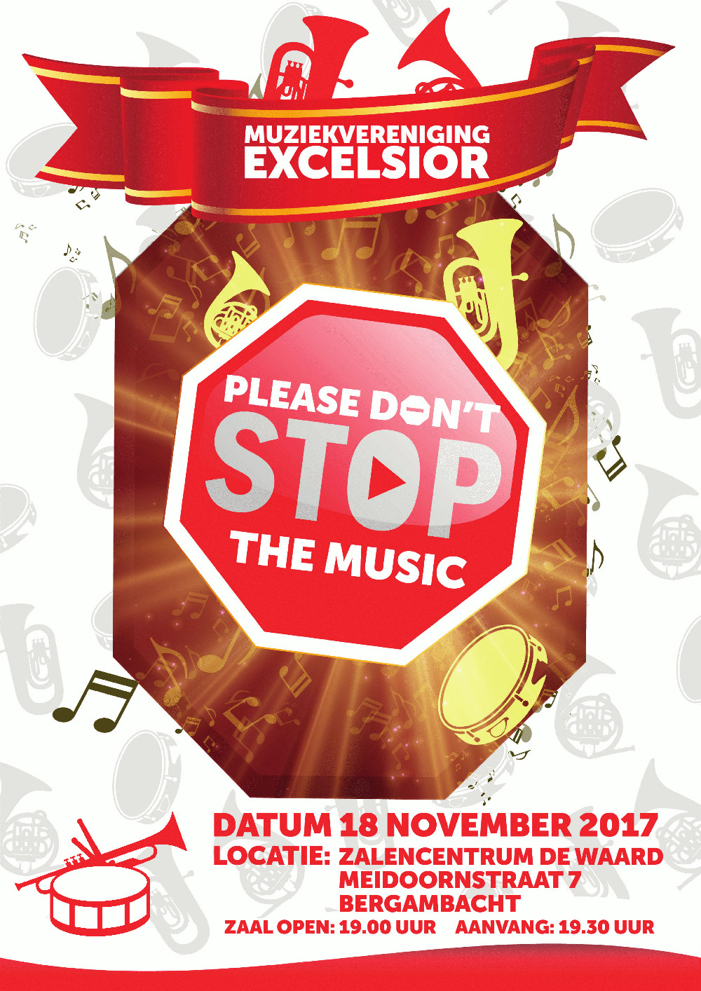 Poster Please, Don't Stop the Music